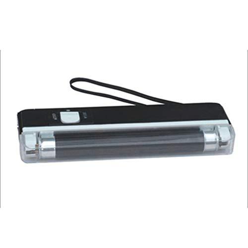 Bewegliche Hand Geld-Detektor UV-Lampe Forge Geld-Test Geldbanknote Detector Batteriebetriebene LED-Taschenlampe