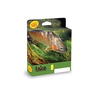 Rio Products Line Fly Aqualux Midge Wf5F/I, Clear-Tip-Yellow, WF5FI