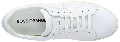 Boss Orange Stillnes Tenn Ltpl 10191252 01, Baskets Basses Homme Blanc (100)