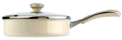 meyer-select-advantage-aluminium-enamel-24-cm-saucepan-with-lid-almond