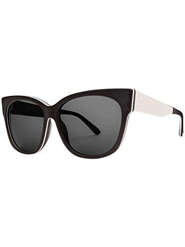 Electric Damen Sonnenbrille Danger Cat Lx Matte Black N White