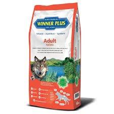 WINNER PLUS Adult holistic 2 kg - Alimento completo, olistico, senza glutine, facilmente digeribile, con pollo e agnello per cani sensibili o con allergie