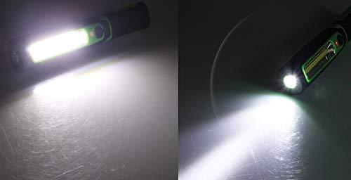 LED Akku Stablampe 160 LED, 12 und 230 V Ladegerät - 3