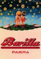 """Blechschild """" Barilla Parma Sternenkinder 054 """" Nudeln 20x30 cm Sign Blechschilder Schild Schilder RV"""