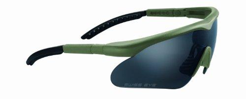 Swiss Eye Sportbrille Raptor, rubber dask green, 10163