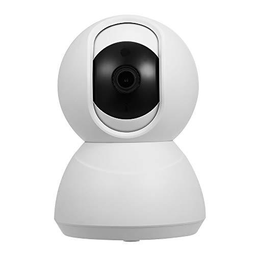 OWSOO Cámara IP 1080P HD PTZ con Ranura para Tarjeta TF Cámara Domo Interior Soporte Visión Nocturna Detección de Movimiento Audio Bidireccional Remote de Teléfono App para Bebé Anciano Mascota