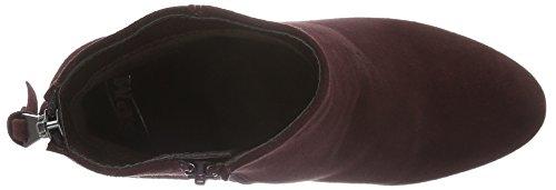 Spm Bendle Ankle Boot, Bottes mi-hauteur avec doublure chaude femme Rouge - Rot (Burgundy 012)