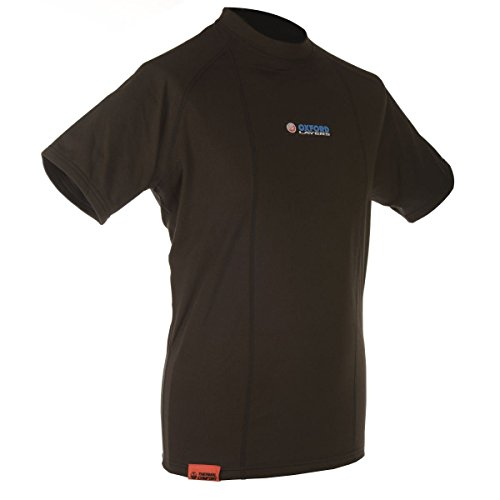 Camiseta interior termica Hombre manga corta Oxford