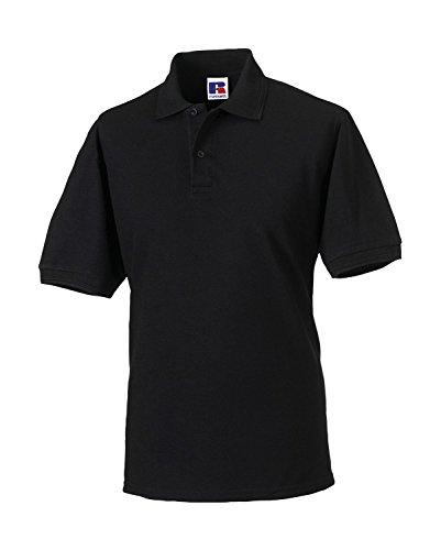 Strapazierfähiges Poloshirt aus Mischgewebe Black