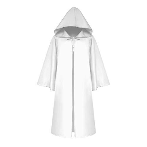 Binggong Steampunk Cloak Mittelalter Kostüm Halloween Hooded Cape Hälfte Ärmel Outwear Coat - Vintage St Patricks Tag T-shirts