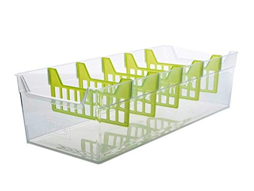er Aufbewahrung Gewürz Box Kiste Küchen Organizer Gewürzbehälter (Transparent) ()