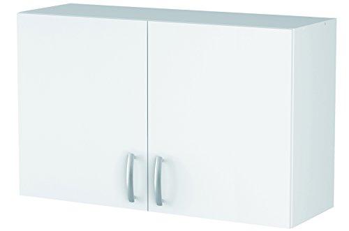 13Casa - Adrià A1 - Pensile cucina. Dim: 100x28x60 h cm. Col: Bianco. Mat: Melamina.