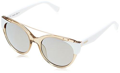 MAX&CO Damen Sonnenbrille Max&CO.296/S MV TQ4, Nude White/Sup Bronze Sp, 52