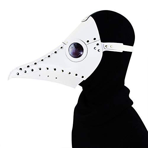 Pest Kostüm Ritter - Punk Gothic Masken Halloween Cosplay Foto Requisiten Pest Schnabel Arzt Maske Urlaub Partei liefert Ritter Cosplay Kostüm Cape