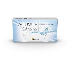 Acuvue Oasys 2-Wochenlinsen weich, 12 Stück / BC 8.8 mm / DIA 14 mm / -4.00 Dioptrien