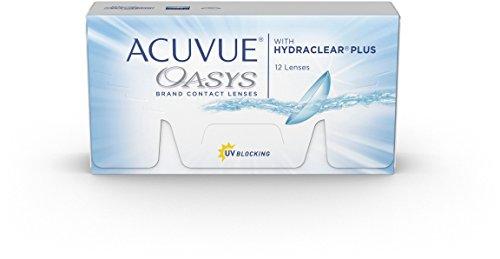 Acuvue Oasys 2-Wochenlinsen weich, 12 Stück / BC 8.4 mm / DIA 14 mm / -2.00 Dioptrien