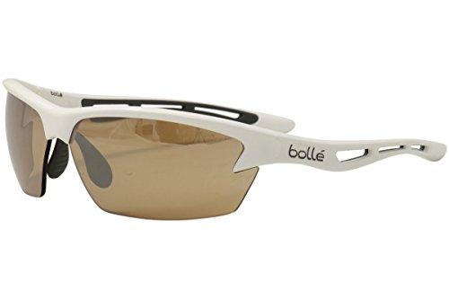 Bollé - Bolt Cat. 2-3 (VLT 31-13%) - Sonnenbrille Gr L grau/beige/weiß