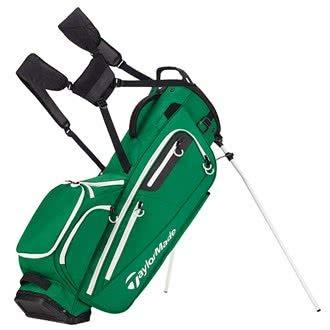 TaylorMade Golf 2018 FlexTech Stand Bag Mens Carry 5-Way Divider Green -