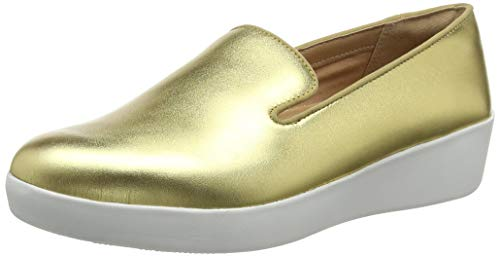 FitFlop Audrey Smoking Slipper-Leather