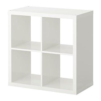 IKEA KALLAX - Regal, weiß - 77x77 cm: Amazon.de: Küche & Haushalt