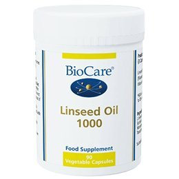 Biocare Linseed Oil 1000g 90 Capsules Test