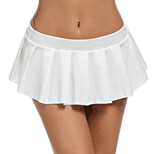 Beautyjourney Minifalda Talle bajo Cintura Baja Club