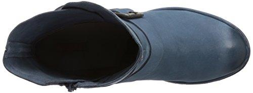 Bugatti - Stivali J4926Pr5G, Donna Blu (Blau (blau 400))