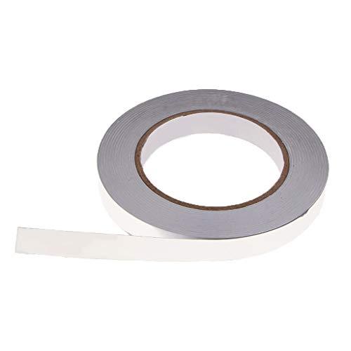sharprepublic Hitzebeständig Klebeband Aluminium Aluminiumfolie Aluklebeband Isolierband Für Lüftung Ofen - 15x0,05 mm -