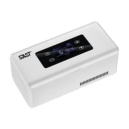 Medizin Kühlschrank,Insulin-Kühlbox, Kleiner Kühlschrank Portable Mini Medizin Kühl-Box Travel mit Große Kältetechnik Platz,für Auto, Reisen, Haus100 * 220 * 90 mm - USB