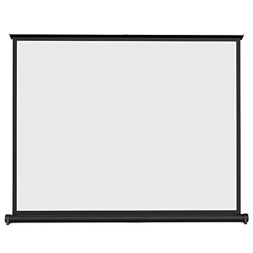 LXQ 40-Zoll 4: 3 tragbarer Desktop, Projektionsfläche | Schule, Kino, Hauptschreibtisch-Projektor-Schirm, beweglicher Lernen-Unterhaltungs-Film-Tisch im Freien, Schirm-Minipico-Projektor-Schirm (Freies Projekt Tv)