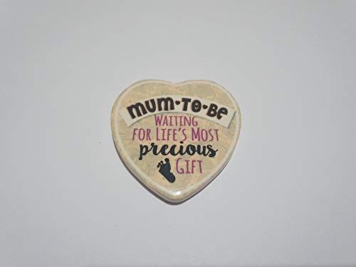The Healing Corner Love Heart Kühlschrank- oder Automagnet, Geschenkidee für Mütter, um Liebe zu Sein, Andenken, schönes Geschenk für Babyparty
