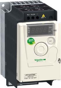 Schneider Electric Frequenzumrichter 1ph. ATV12H075M2 0,75kW 230V IP20 Frequenzumrichter =< 1 kV 3606480071072 Test