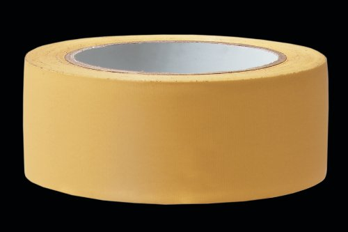 Putzer Abdeckband quergerillt - 33 m - 50 mm Breite - Putz UV Klebeband - Putzerband - Putzband