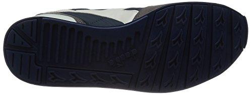 Diadora Unisex-Erwachsene Camaro Pumps, Bianco Mehrfarbig (Blu Insegna/Grigio Pellicano)