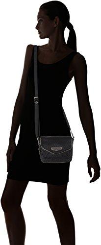 Kipling - Kassandra S, Borse a tracolla Donna Nero (Black Ink Emb)