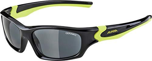 Alpina Unisex Jugend FLEXXY Teen Sportbrille schwarz, gelb, One Size