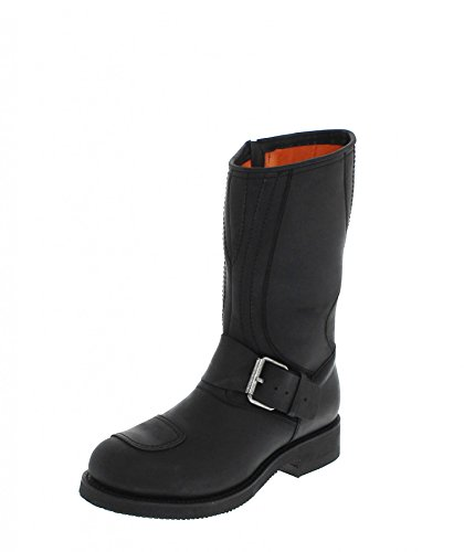 adulto 41 talla color De Botas Unisex Vaquero Negro Mayura Boots1941 XRwqH