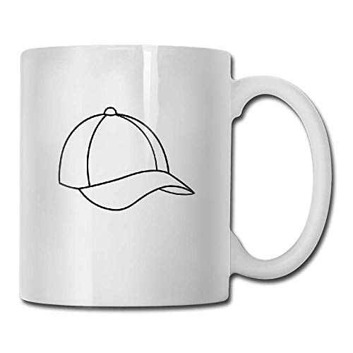 DHIHAS Strong Stability Durable Tasse de café Baseball Cap Tea Cup Novelty Gift for Lovers