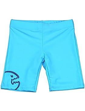 iQ-Company Kinder Badehose UV 300 Shorts Kids Bites, Turquoise, 158, 783401-2515