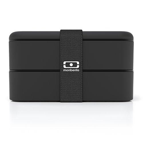 Monbento Caja Bento Original Negro width=
