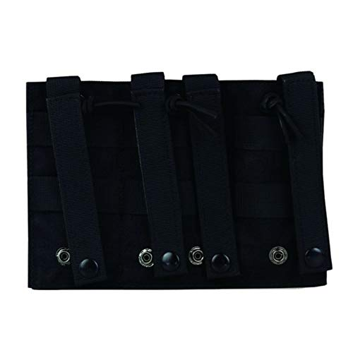 MOLLE Triple Open-Top Magazine Pouch Fast AK AR M4 FAMAS Mag Pouch B