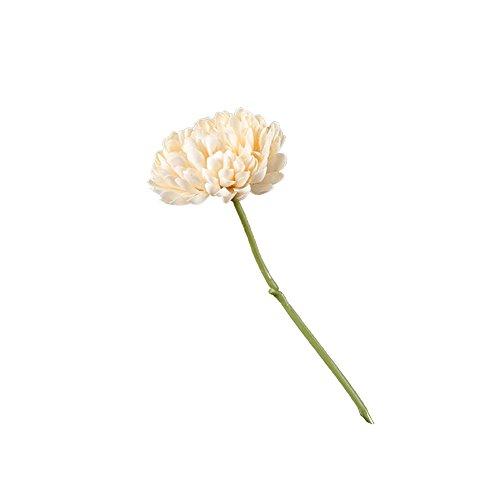 gzzebo 1 Stück künstliche Chrysanthemen Blumen Hochzeit Requisiten Bouquet Party Haus Garten Büro Shop Dekoration