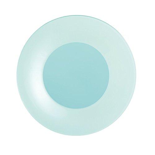 Luminarc L8268 - Platos de postre (6 unidades, 19 cm), diseño de armonía, color azul