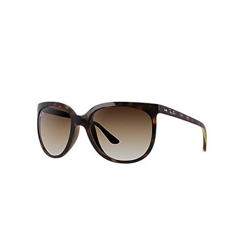 Ray-ban  rb4126 - cats 1000 - occhiali da sole donna,  marrone (light brown gradient), col. 710/51 calibro 57