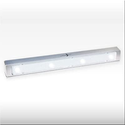 Batterieleuchte Cool Light Mit Klebepads - Kabellose Led Lichtleiste Die Universelle Anbauleuchte Mit Verzgerter Abschaltung
