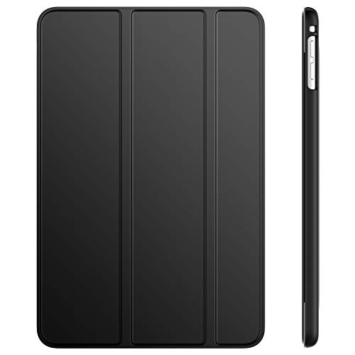 JETech Hülle für iPad Mini 5 (2019 Modell 5. Generation), Intelligent Schutzhülle mit Auto Schlafen/Wachen, Schwarz (5. Generation Ipad)