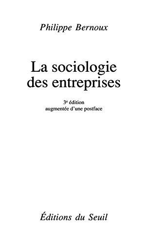 Sociologie des entreprises (La)