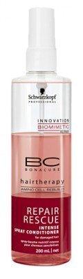 Schwarzkopf bonacure Repair Rescue Intense Spray après-shampoing pour les cheveux abîmés (6.8 Oz.) by Noir Tête [Beauty] (English Manual)