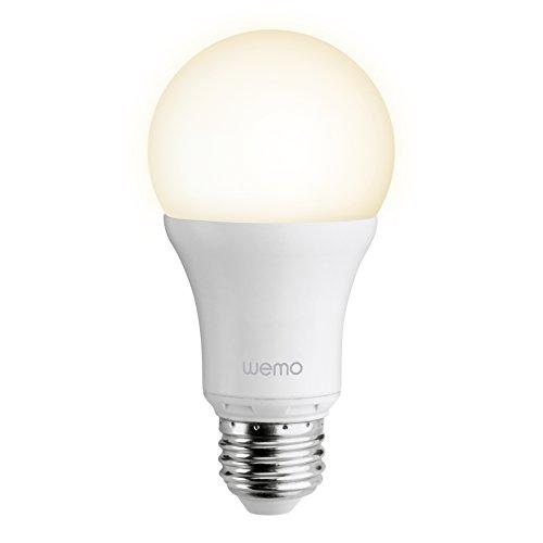 Belkin WeMo Smart Light Screw Fit E27 LED Single Light Bulb