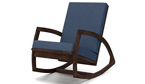 Custom Decor Urban style Coaster Southern Country Plantation Porch Rocker/Rocking Chair, Mohogny Teak Wood Finish  available at amazon for Rs.7995